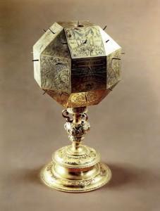 Polyeder-Sonnenuhr von Koch (1578)
