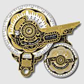 Große Sternenuhr mit Seemanns-Astrolabium