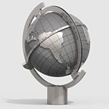 MAGELLAN Globussonnenuhr