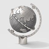 TERRA Globe Sundial