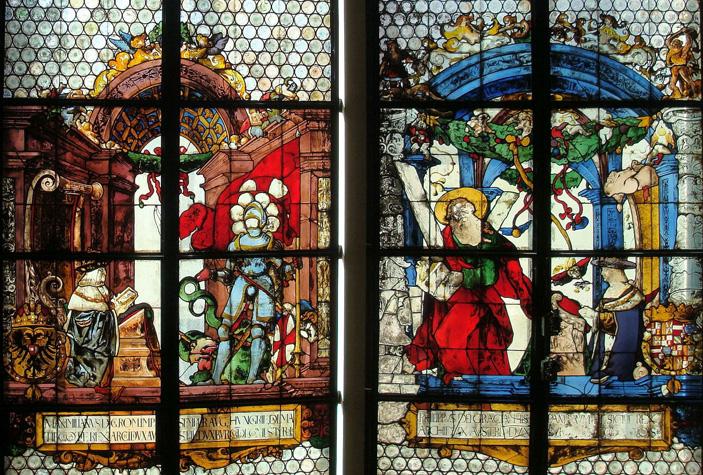 Kaiserfenster Freiburger Münster
