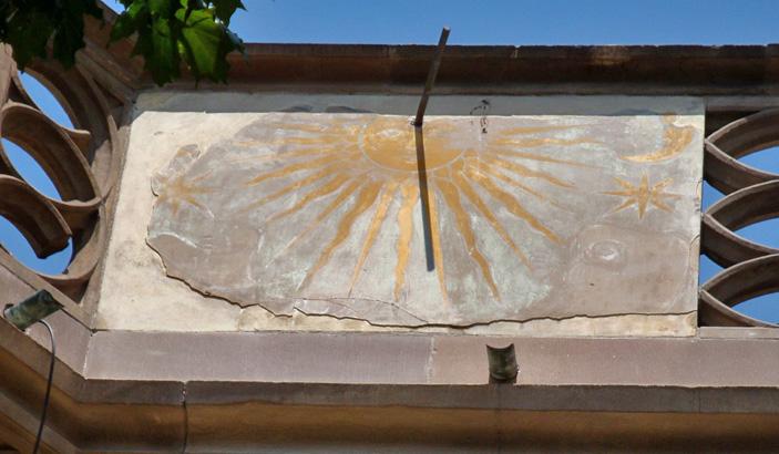 Sonnenuhr Colmar