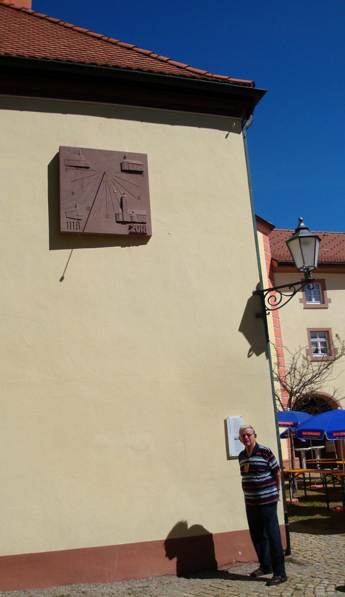 Sonnenuhr für St. Märgen