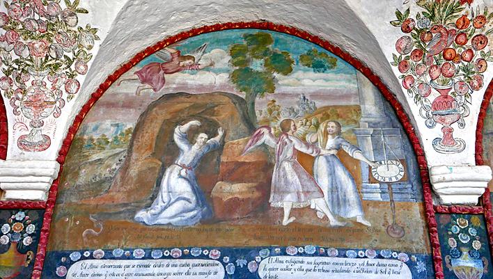 Sonnenuhr Nonnenkloster Santa Catalina in Arequipa